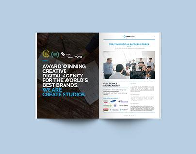 Createstudios brochure design