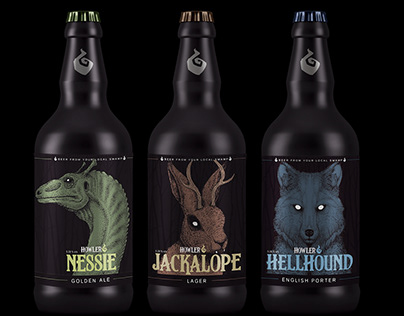 Howler Beer Labels