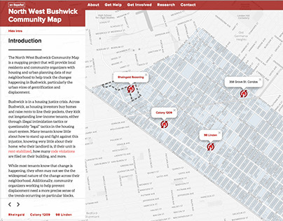 North West Bushwick Map ReDesign
