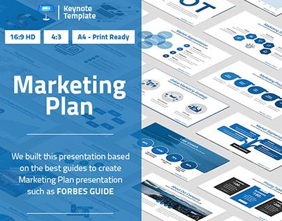 Marketing Plan Keynote Presentation Template