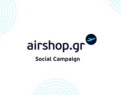 Airshop.gr Social Ad Campaign