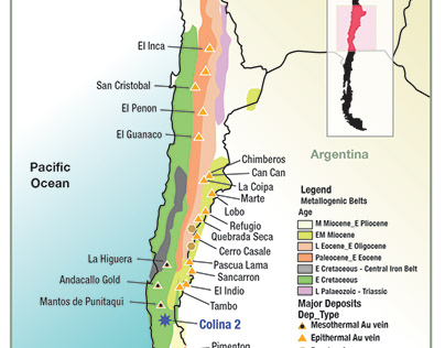 Project Map for Southern Hemisphere Colina 2