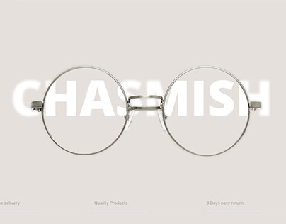 Glasses design shop template