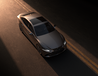 Lexus LS 500 - Full CGI