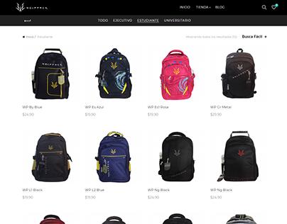 e-commerce/backpacks WolfPack