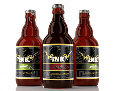 INK - beer 3D visualization