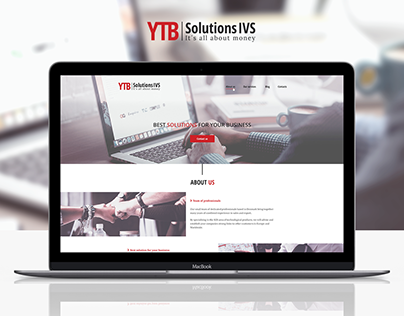 Logo & landing page for business consulting company