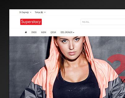 Superstacy E-Commerce Web Design