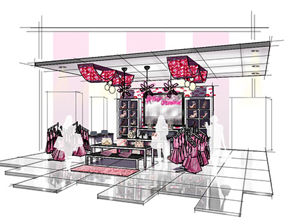 Betsey Johnson In Store Display