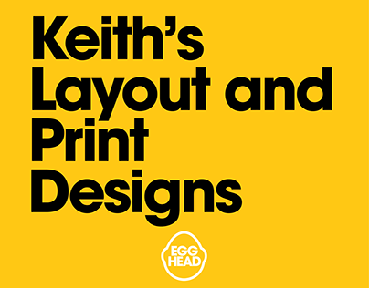 Keith's Layout and Print Designs