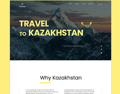 New Travel Destination Landing Page