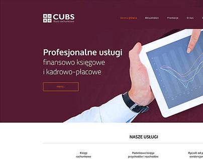 Cubs - Accountant website