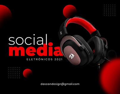 Social Media - Eletrônicos