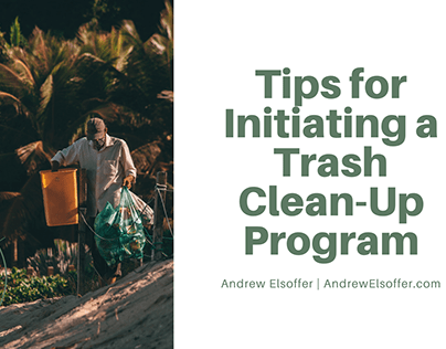 Tips for Initiating a Trash Clean-Up Program