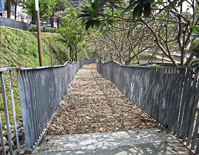 Taiwan Taichung Maple Garden Ladder