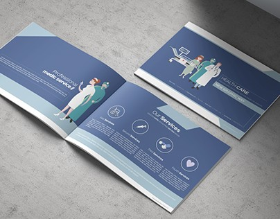 Health & Care Brochure Template