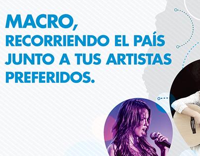 Look & feel - Promos espectáculos Banco Macro