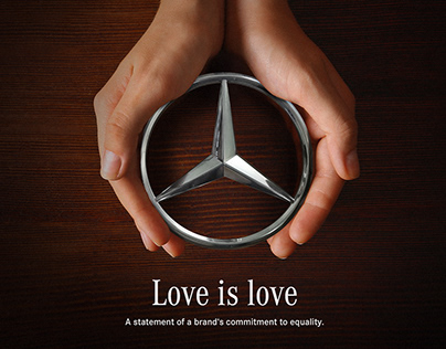 Mercedes-Benz Love is love