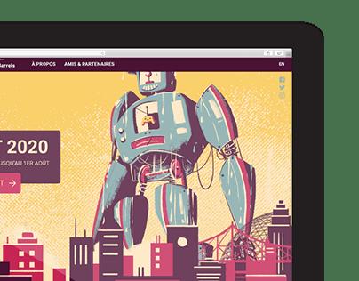 Design site web MEGA+MIGS 2019