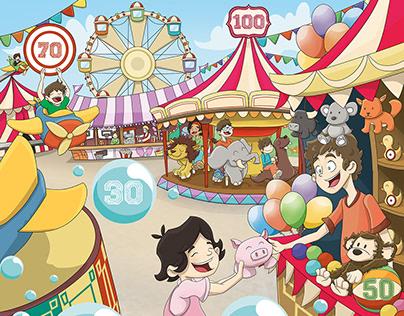 Feria - Ilustración infantil