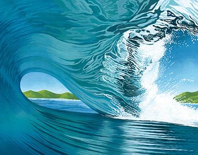 BIG WAVE ILLUSTRATION 2020