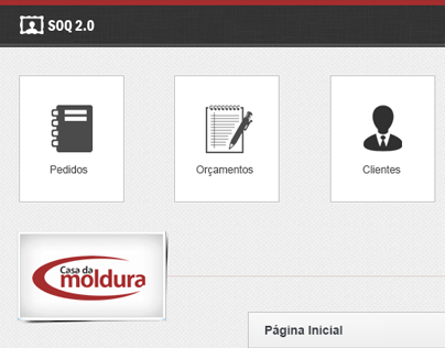 Design for control business software.