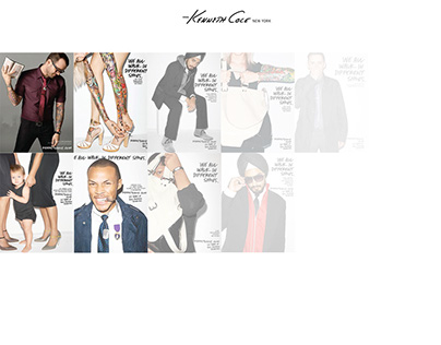 """Kenneth Cole's """"Make a Statement"""" Campaign"""