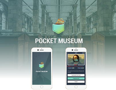 Pocket Museum - Mobile app game