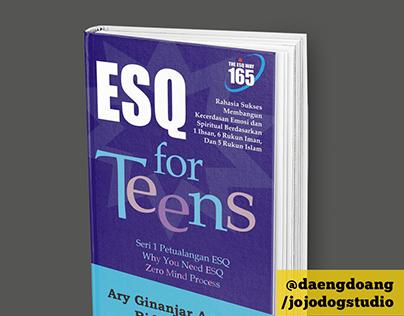 Book Cover Design: ESQ for Teens | @daengdong