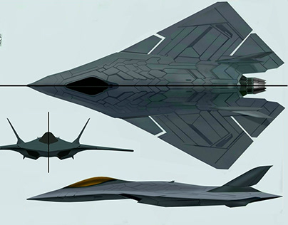 stealth fighter concept