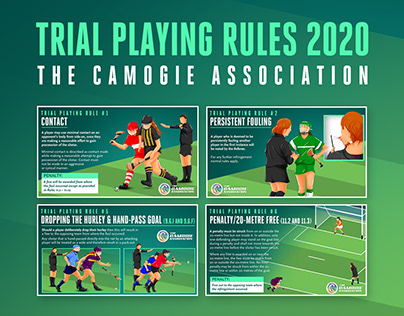 The Camogie Association – Rules Infographics