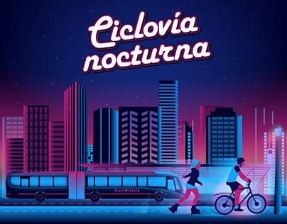 Ciclovía Nocturna