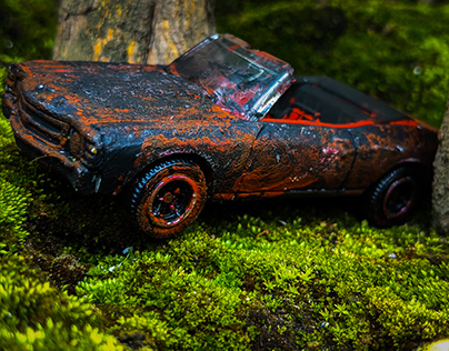 ABANDON CUSTOM MADE MODEL CAR