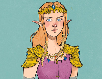 Princess Zelda (Concept Art)