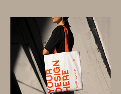 Urban Tote Bag Mockup Bundle