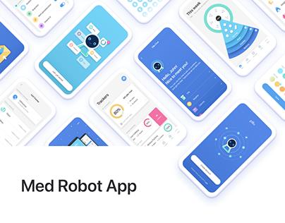 Renewed Design for Pillo Healthcare App