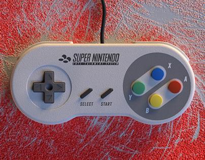 Super Nintendo (NES) Controller