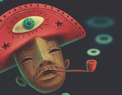 GAITEIRO // poster sonido