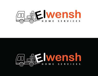 Elwensh Logo Design