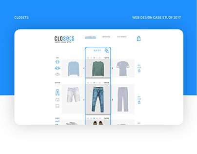 Closets - E-commerce
