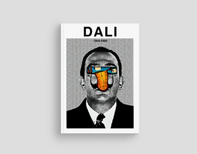 Salvador Dali | Editorial design