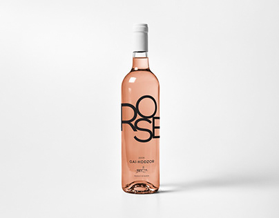 Wine label design for Gai-Kodzor winery