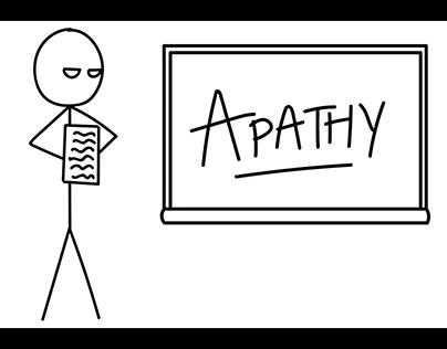 Apathy! The Pathos to Failure!
