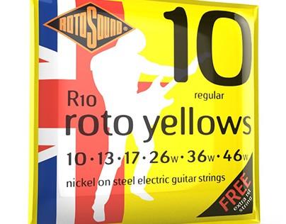 Cordes de guitare électrique pour débutant