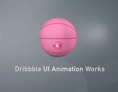 Dribbble UI Animation Works