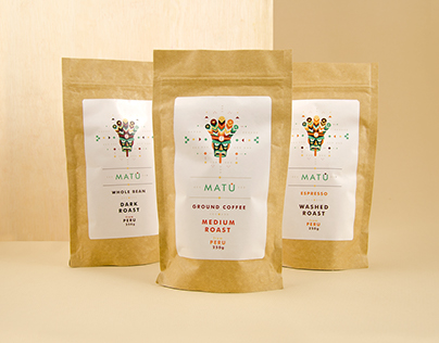 Matu - Peruvian coffee packaging