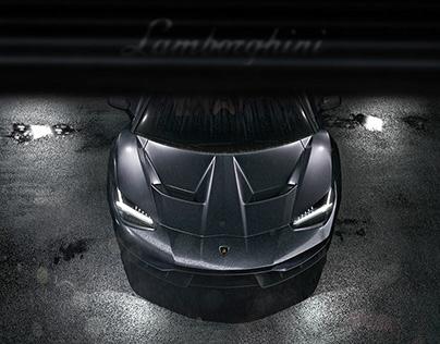 Lamborghini Centenario Cgi Print