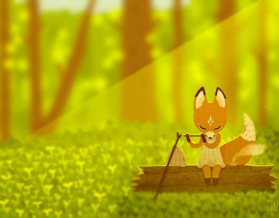 Spirit of forest | Illustration