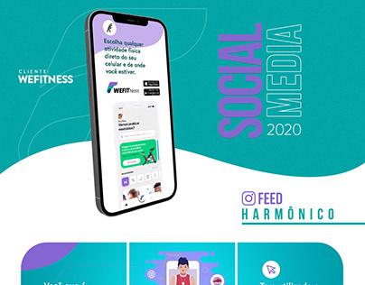 Social Media - WeFitness