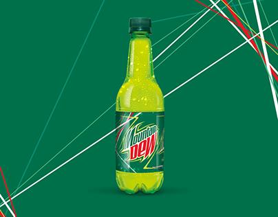 Mountain Dew Bottle Packaging